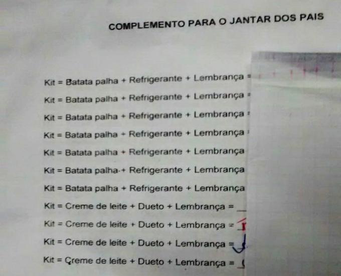 Denuncia: Professores e Funcionários continuam patrocinando Festas comemorativas, assinando listas de contribuição nas escolas de João Câmara