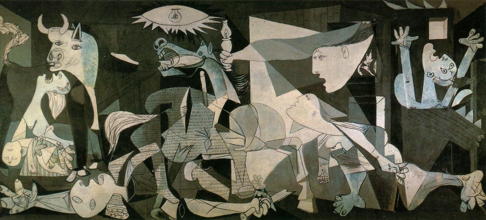 Madri - atrações clássicas e muito além do básico - quadro Guernica no Museu Reina Sofia