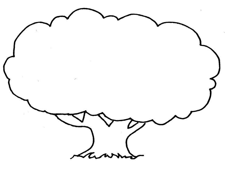 Dibujos Para Colorear De Arboles Frutales: Dibujos Para Colorear De ARBOLES