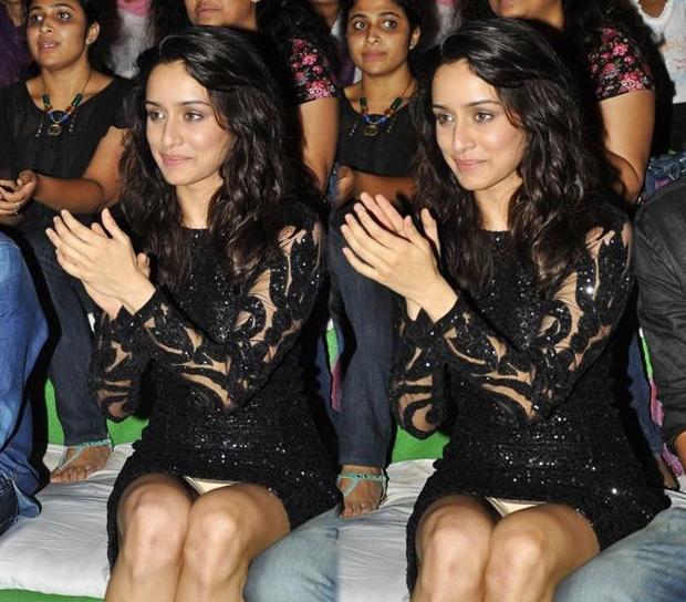Shradda Kapoor wardrobe malfunction