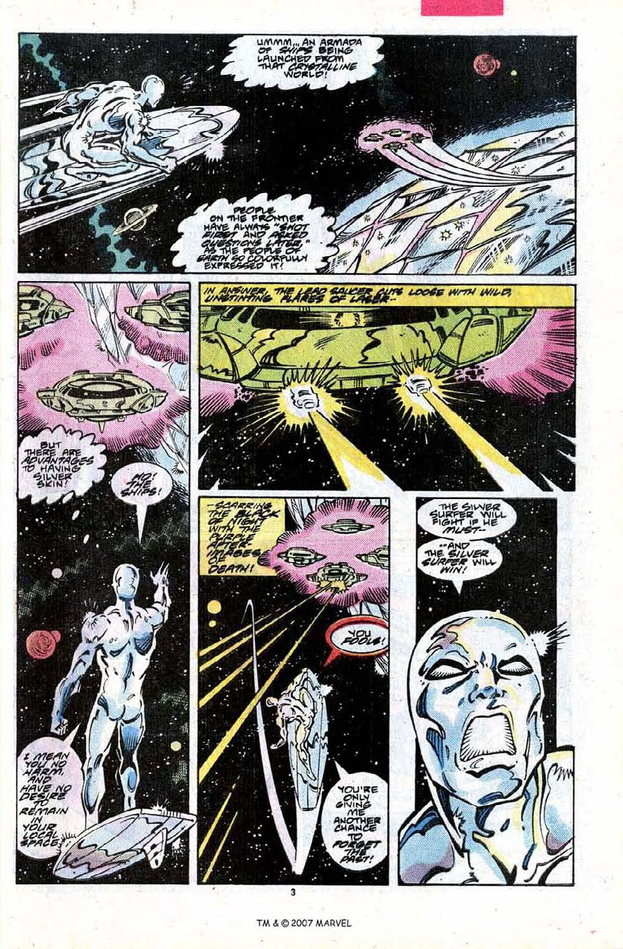 Read online Silver Surfer (1987) comic -  Issue #24 - 5