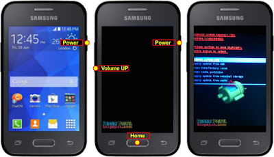 Hard Reset Samsung Galaxy young 2 Duos G130H