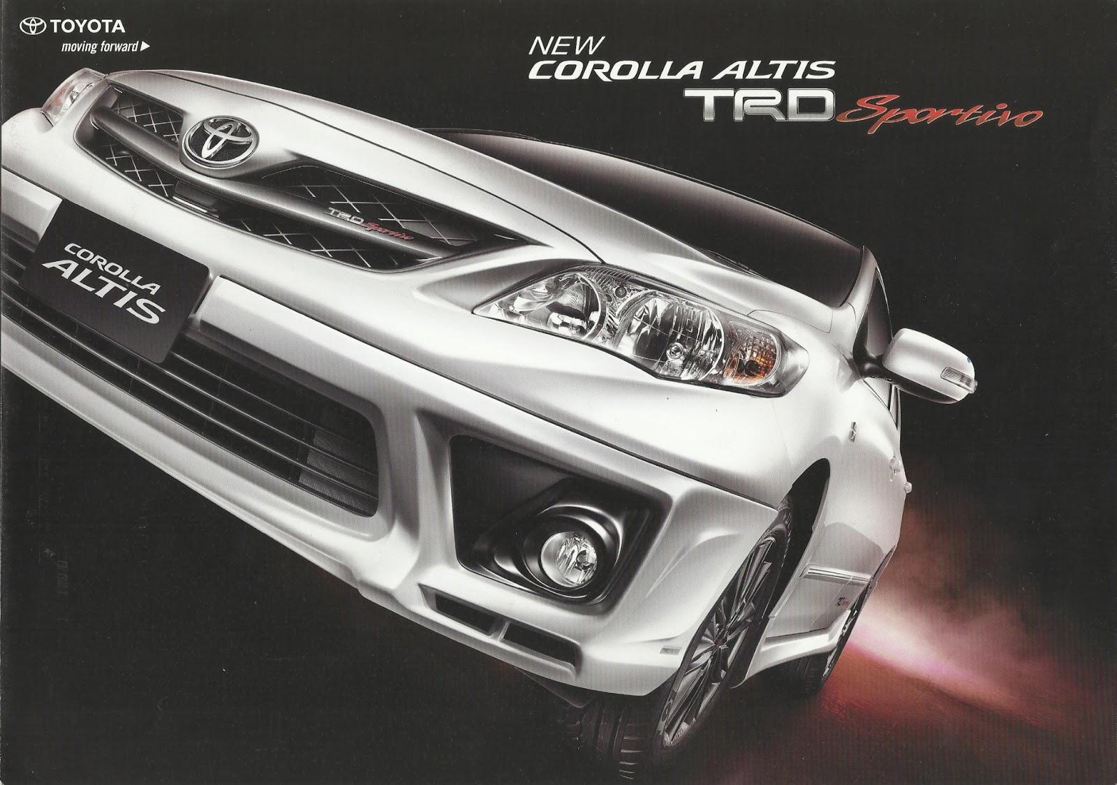 Toyota New Yaris Trd Sportivo Brand Camry 2016 Price Genuine Accessories : Corolla Altis