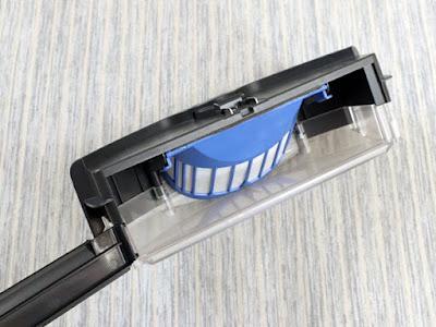 iRobot ルンバ500・600シリーズ用ダストボックス 交換用ビン ルンバ消耗品 青色フィルター付き 吸引力アップ ブラック