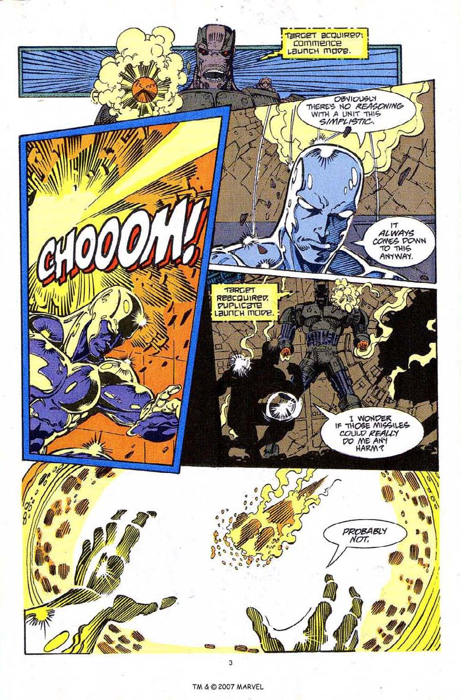 Read online Silver Surfer (1987) comic -  Issue #61 - 5