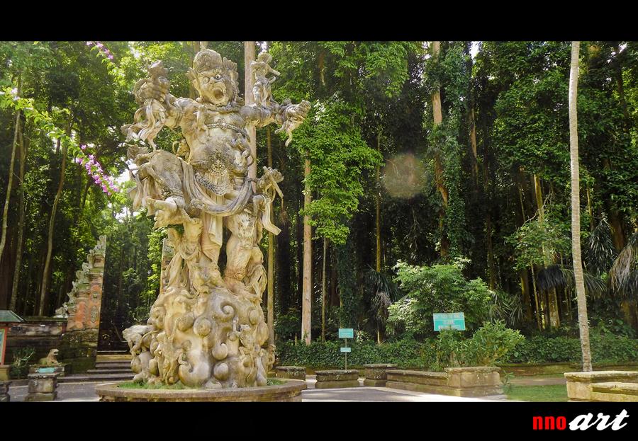 Sangeh Bali Tempat Wisata Hutan Monyet Dan Pohon Pala Nnoart