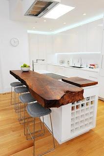Idea original decorar cocina