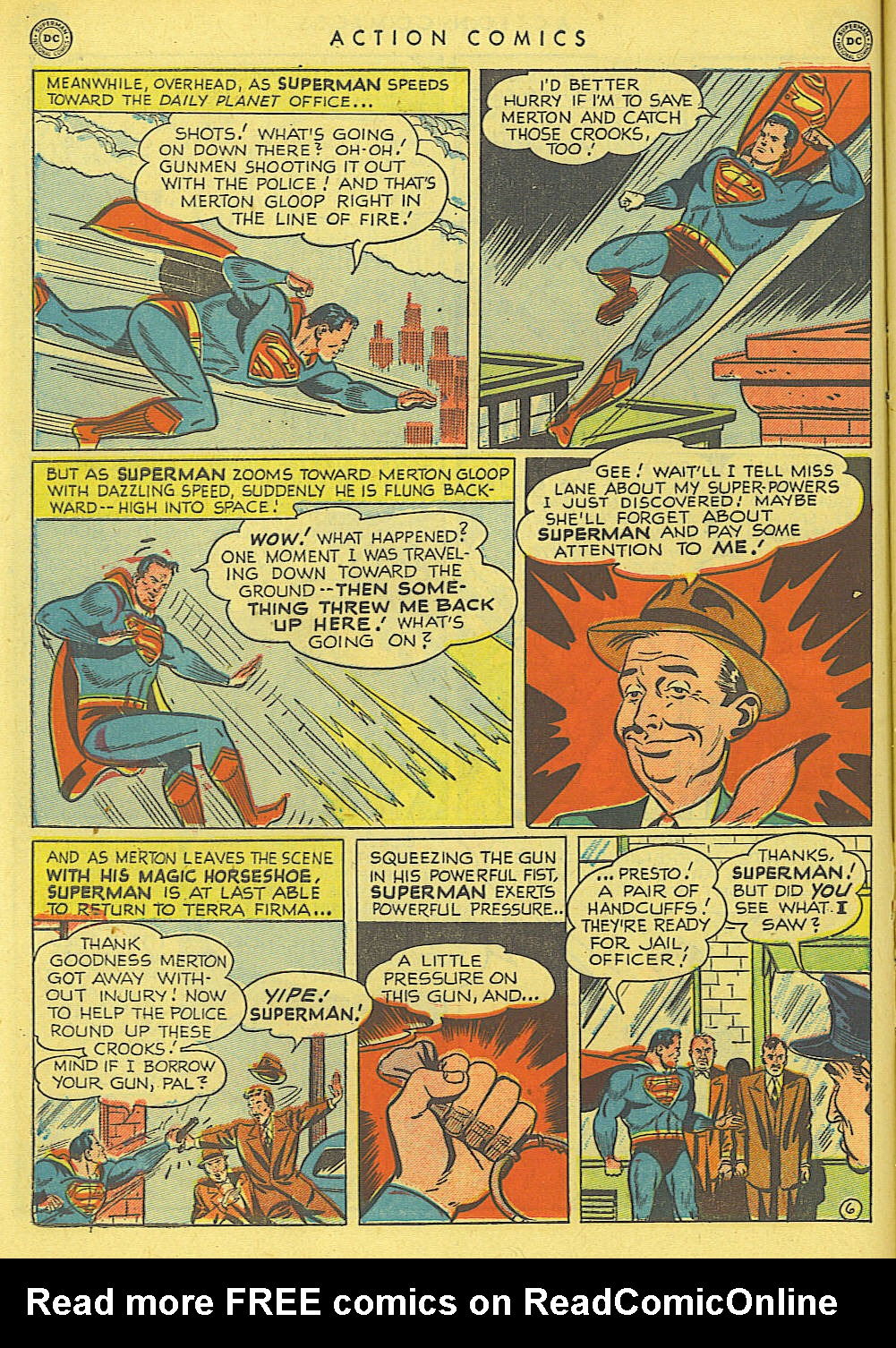 Read online Action Comics (1938) comic -  Issue #145 - 7