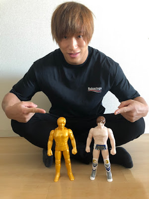 Kota Ibushi Golden Star Edition Soft Vinyl Figure