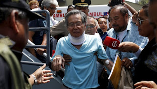 Alberto Fujimori remains hospitalized while rumors grow about his pardon