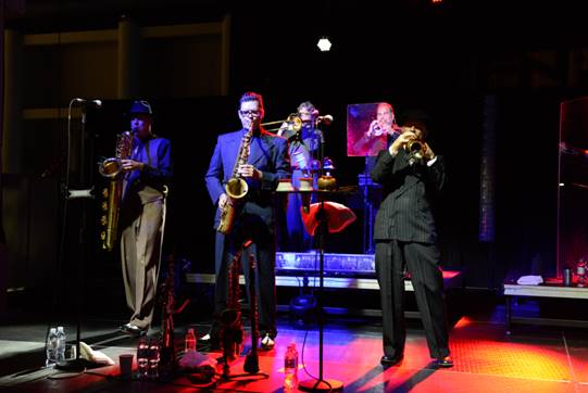 Big Bad Voodoo Daddy performed at FN PLATFORM