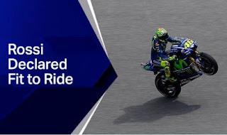 Valentino Rossi Dipastikan Bisa Turun di MotoGP Mugello Italia 2017