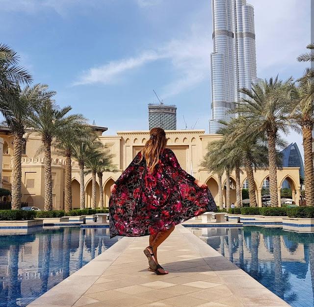 Dubai, vista del Burj Khalifa dal Palace Downtown. Alessia Siena