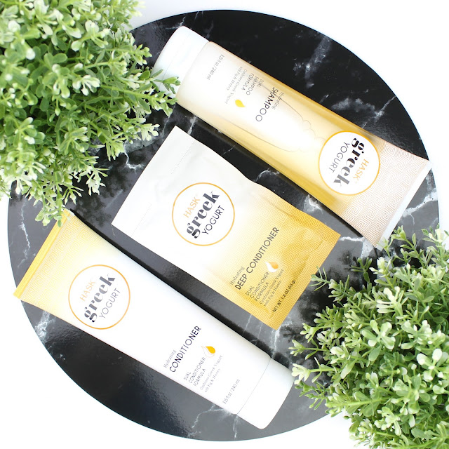 Hask Greek Yoghurt Haircare  Fig and Honey Hydrating Shampoo and Conditioner Deep Conditioner Treatment Mask review