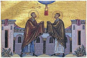 Άγιοι Ανάργυροι – Κοσμάς και Δαμιανός