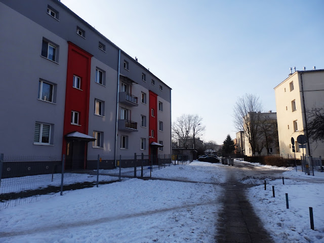 Okolice stacji kolejowej w Kielcach (dzielnica Czarnów)