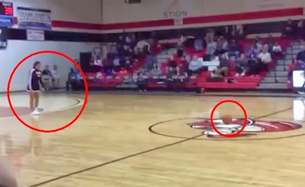 Balltrick der Extraklasse | Cheerleader Hits #SCtop10 Circus Shot ( 1 Video )