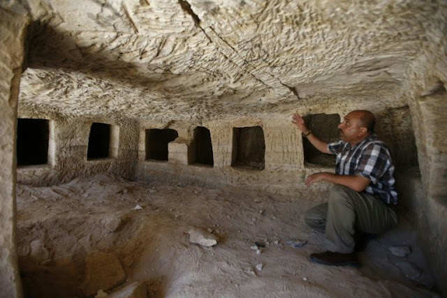 Roman-era tombs discovered in Palestinian city of Hebron