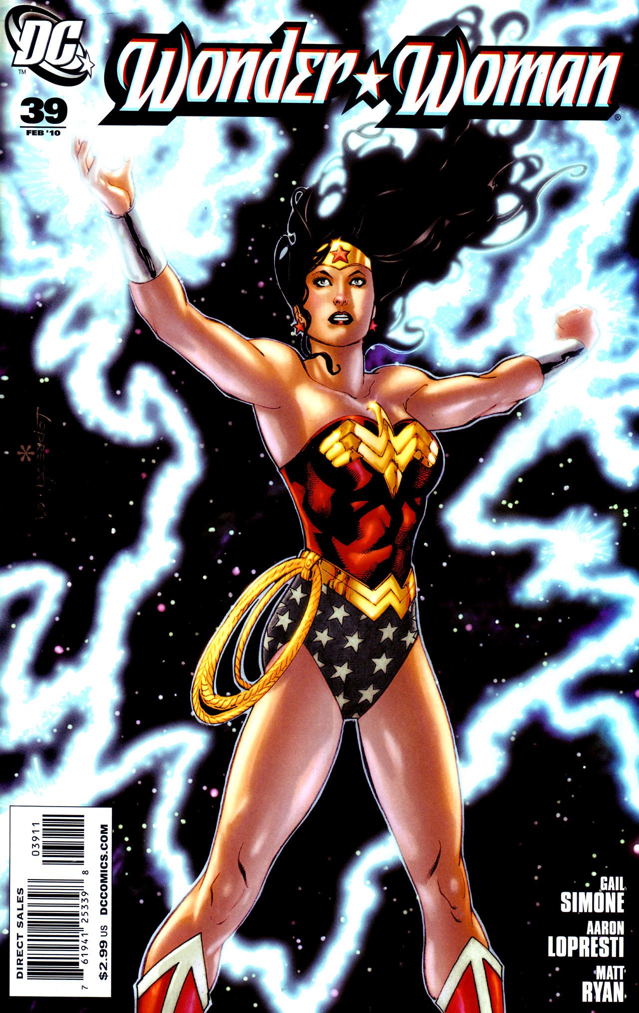 Read online Wonder Woman (2006) comic -  Issue #39 - 1