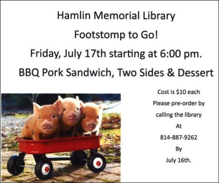 7-17 BBQ at Hamlin Library