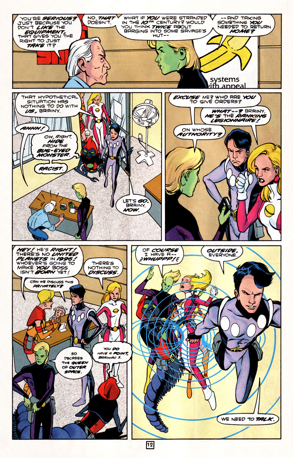 Legion of Super-Heroes (1989) 86 Page 12