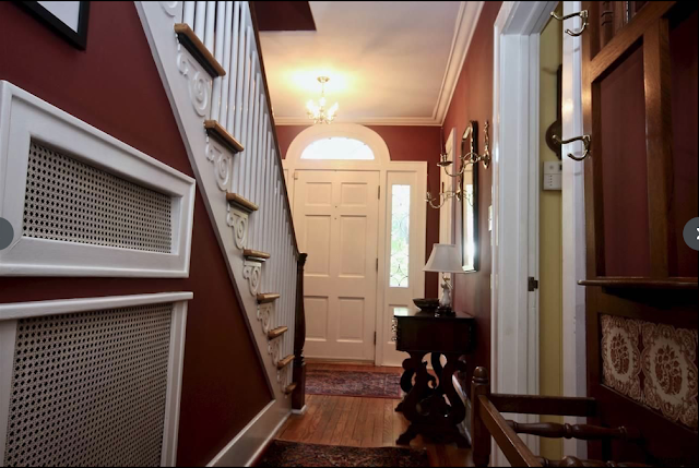 view of front doorway area in hallway Sears New Haven model 30 Hawthorne Ave Delmar NY