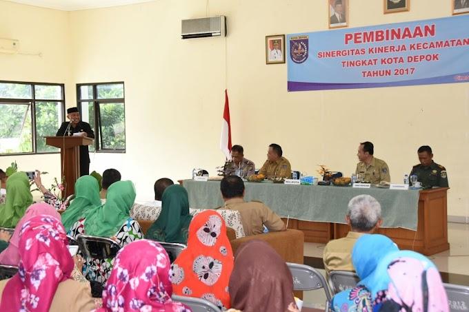 Penilaian Sinergitas, Walikota Apresiasi Kecamatan Cinere