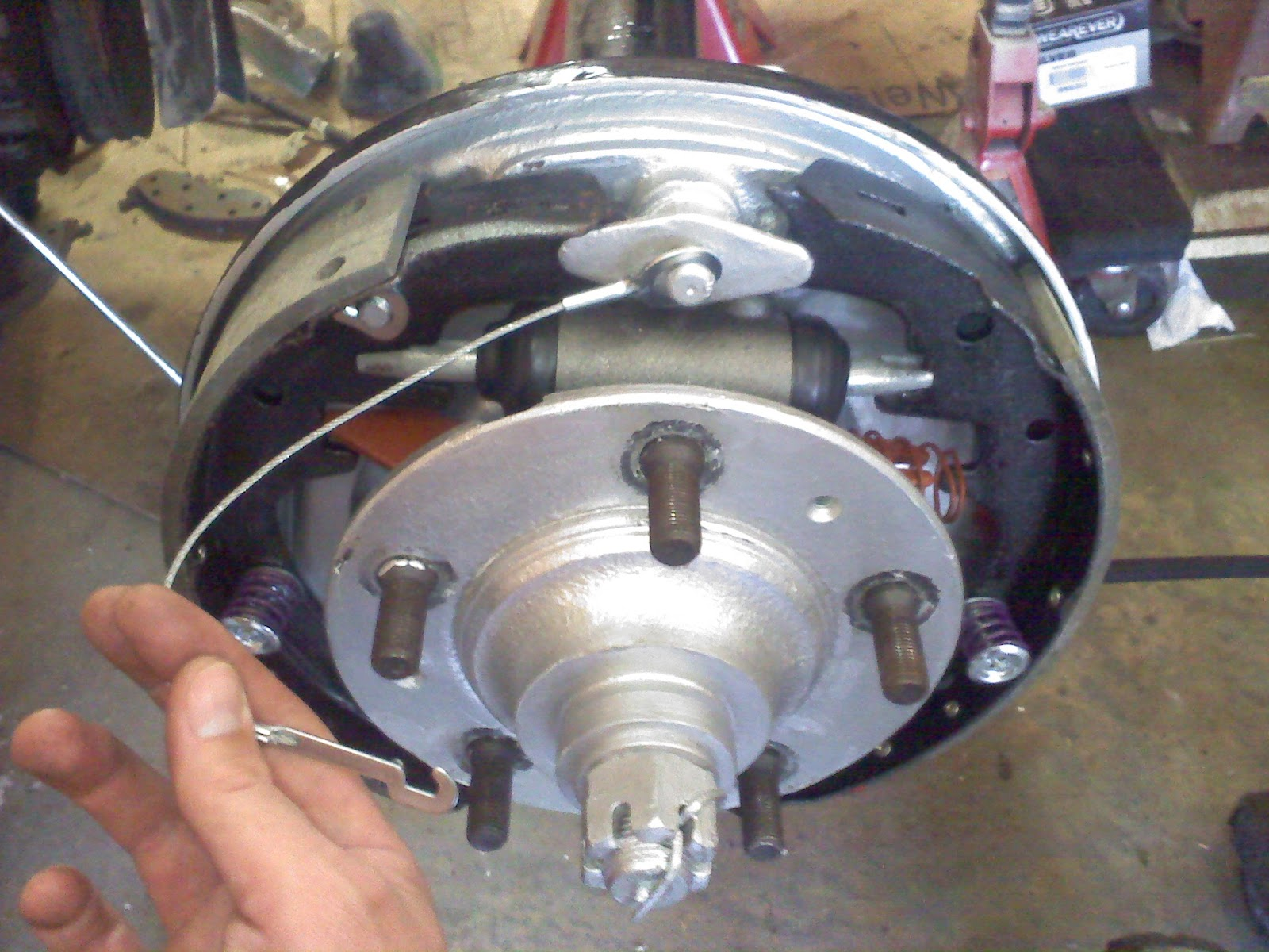 1983 CJ7 Rebuild: Drum Brake Install on AMC 20 Rear Axle
