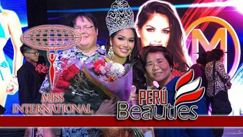Athena Eva McNinch es Miss International Guam 2019