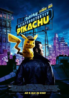 Pokemon Detective Pikachu Movie Poster 4
