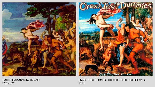 Bacco-e-Arianna-by-Tiziano-God-Shuffled-His-Feet-Album-by-Crash-Test-Dummies