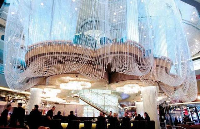 Hotel Cosmopolitan Las Vegas Chandelier