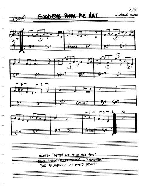 Partitura Violín Charles Mingus