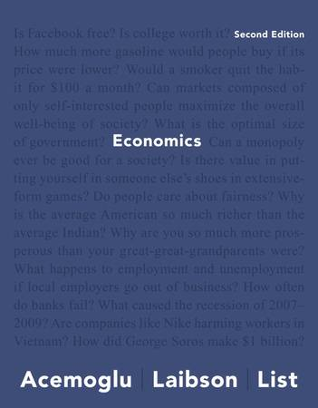 Test Bank And Solution Manual Economics 2nd Edition Daron