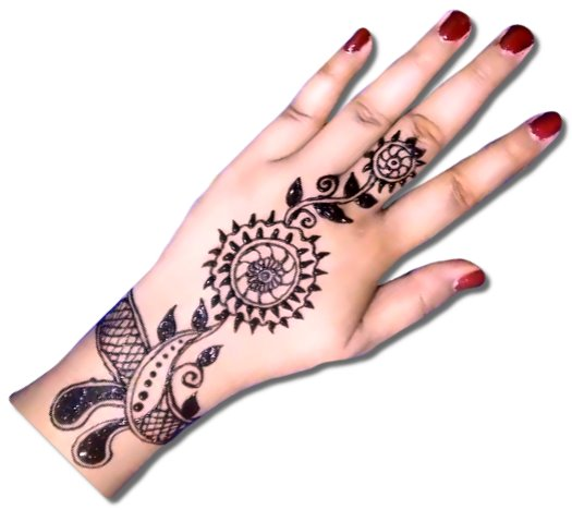 Bangle Mehndi Designs