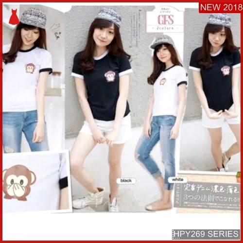 HPY269M125 Monkey Tee Anak jpg Murah BMGShop