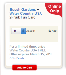Making ends meet busch gardens williamsburg discount tickets through march 15 for How to check if your busch gardens pass is expired