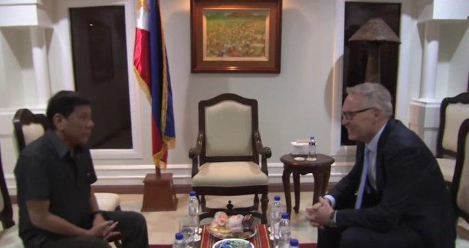 Norwegian diplomat thanks Duterte for efforts to secure release of nabbed national