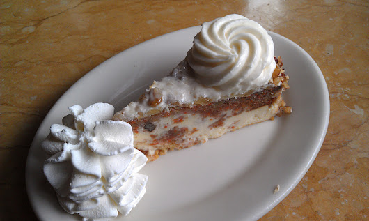 The Cheesecake Factory Copycat Craig's Carrot Cake Cheesecake Recipe