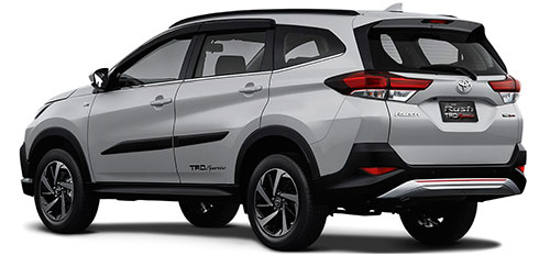 All New Toyota Rush Terbaru akan dirilis pada januari 2018