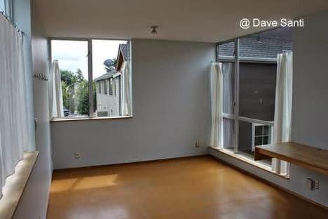 Habitación en la planta alta de la casa pequeña de Seattle