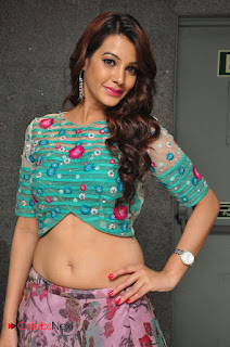 Actress Deeksha Panth Picture Gallery at Chal Chal Gurram Audio Release 0008