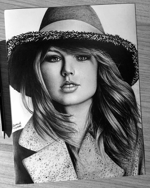 03-Taylor-Swift-Samuel-Ulysses-Celebrity-Portraits-in-Pencil-www-designstack-co