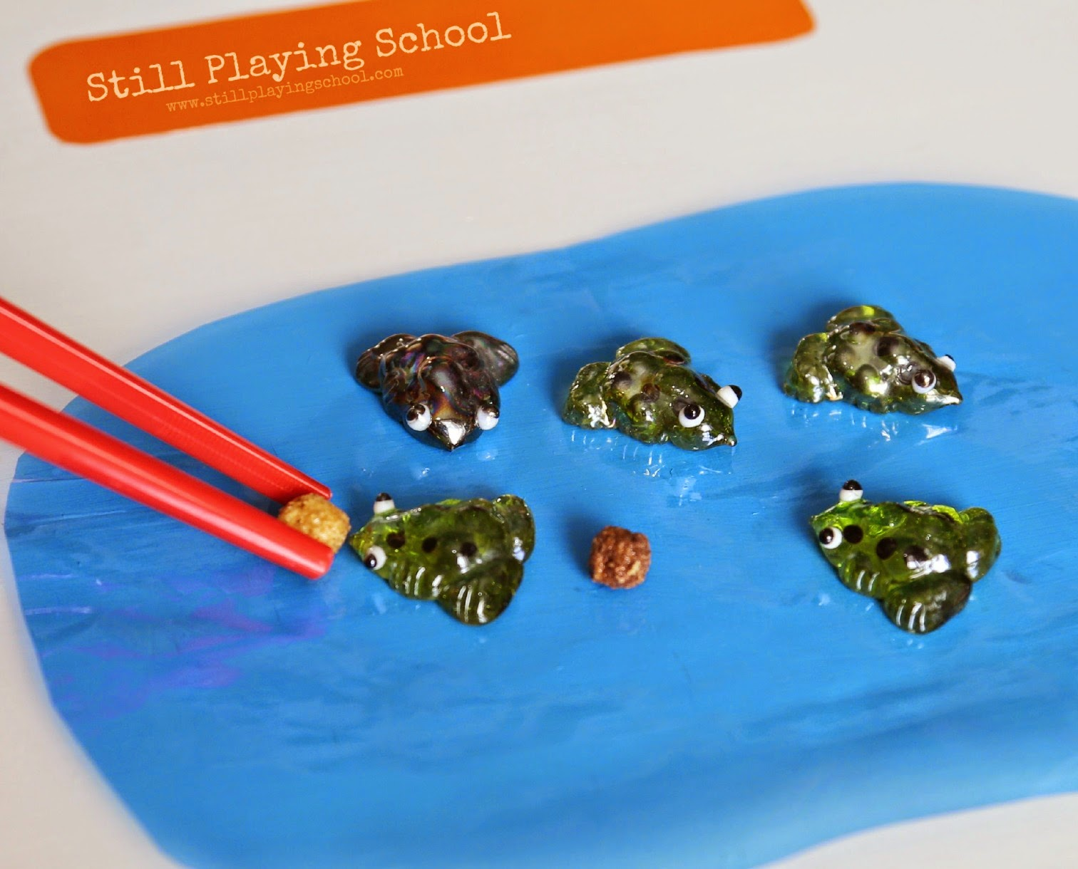 Five Green And Speckled Frogs Game