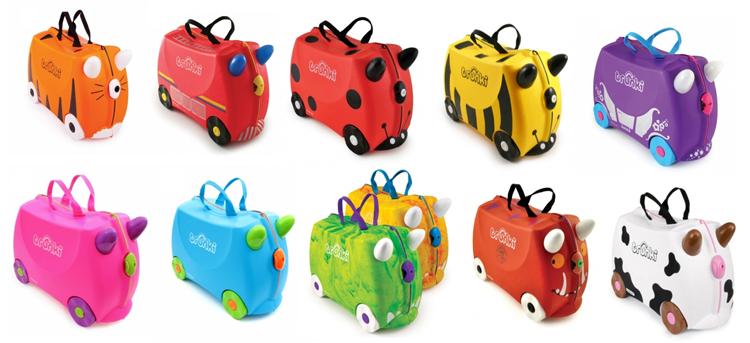 00727897f Hay un montón de modelos de maletas Trunki para elegir, a cada cual más  bonito. Yo tengo que reconocer que la vaca me tiene enamorada, desde el  primer día, ...