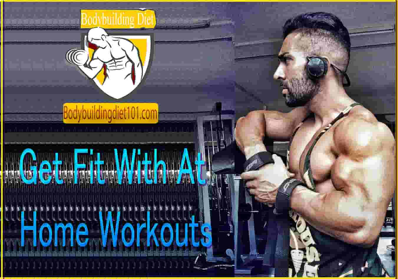 Get Fit With At Home Workouts