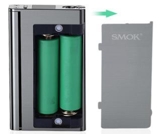Magnet-held Battery Cover