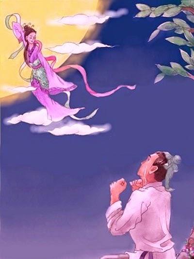 Legenda Dewi Matahari Kisah Dewi Bulan Dengan Pemanah Matahari