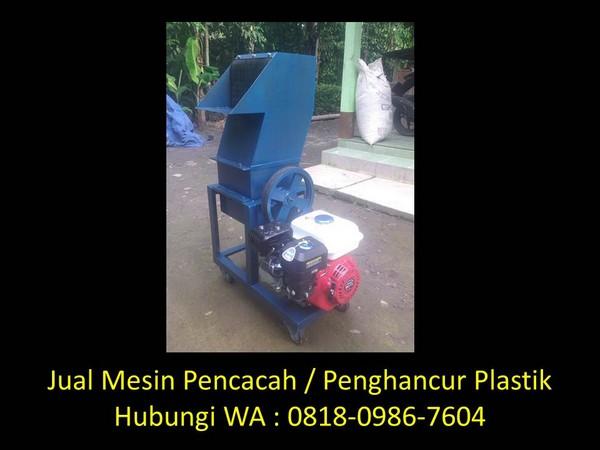 mesin pengering plastik cacah di bandung