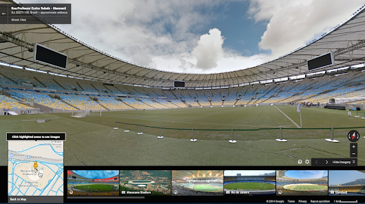 Google Lat Long: Get a front row seat to the games with Google Maps